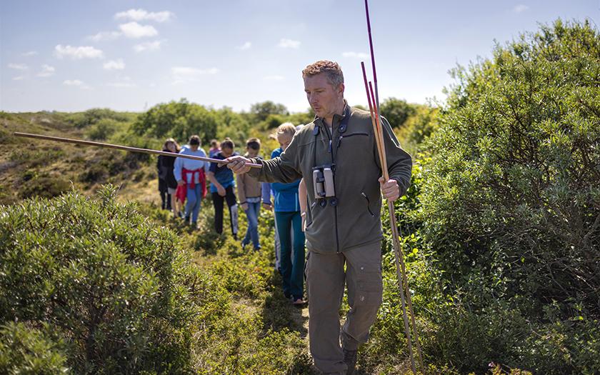 Struinen langs de vogelkolonies van De Geul
